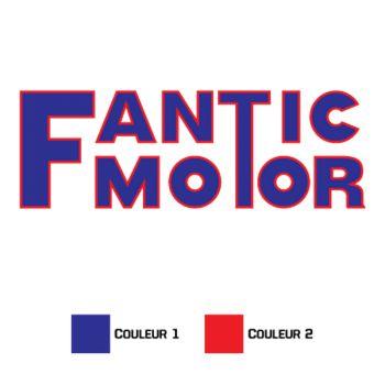 Fantic Motor Decal
