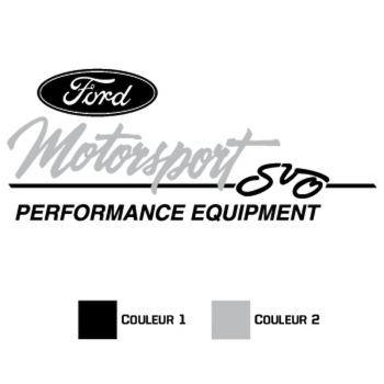 Ford Motorsport Decal