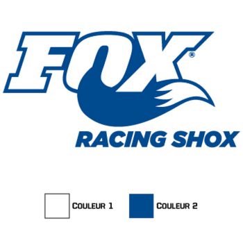 Sticker Fox Racing Shox