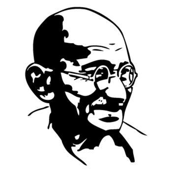 Sticker Gandhi