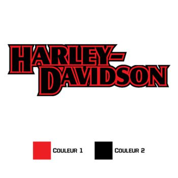 Harley Davidson Logo Decal 1