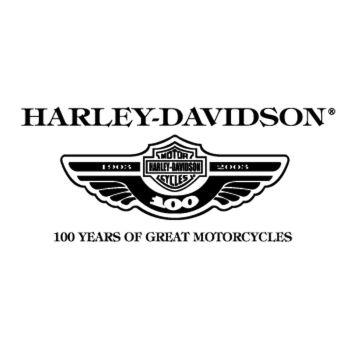 Harley Davidson Logo 100 Years Decal