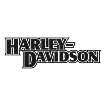 Harley Davidson Carbon Decal