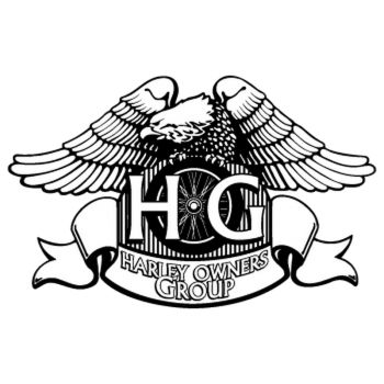 Harley Davidson Owners Group Decal