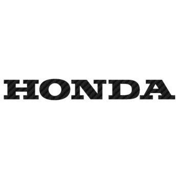 Honda Carbon Decal