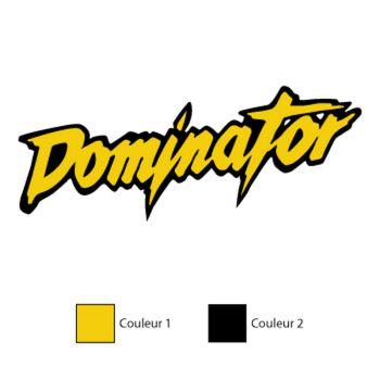 Honda Dominator Decal