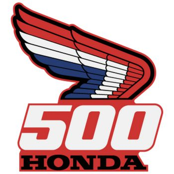 Honda Logo 500 Decal