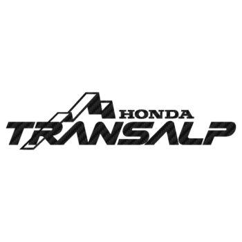 Honda Transalp Carbon Decal 2