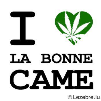 T-Shirt I Love la Bonne Came