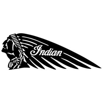 Indian Decal 3