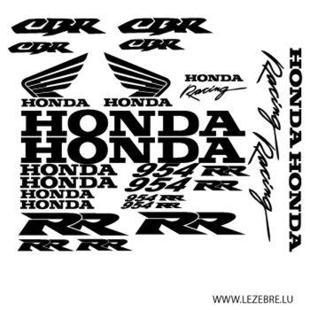 Honda CBR 954 RR decals set