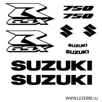 Kit stickers Suzuki GSX R 750