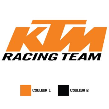 Sticker KTM Racing Team
