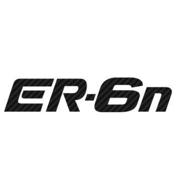 Kawasaki ER 6n Carbon Decal