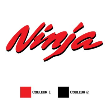 Kawasaki Ninja Decal 5