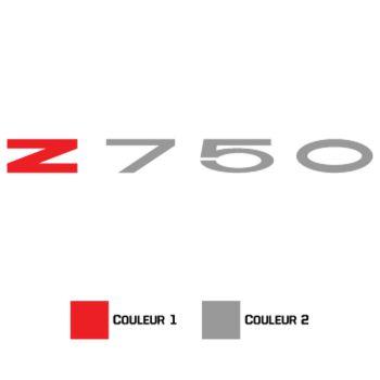 Sticker Kawasaki Z750