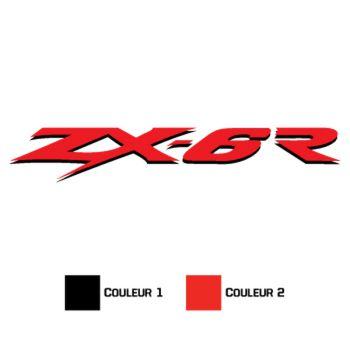 Kawasaki ZX 6R Decal 2