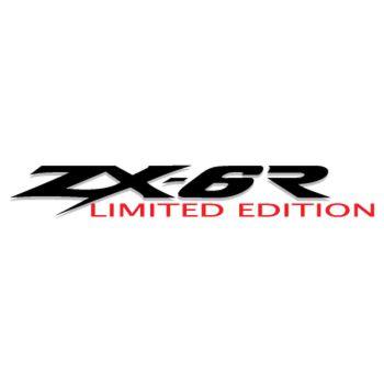 Kawasaki ZX 6R Limited Edition Decal