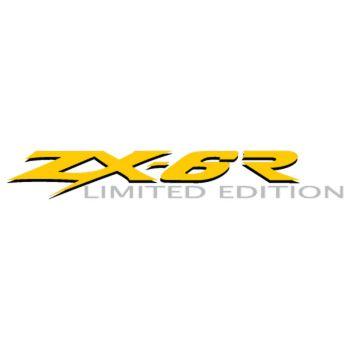 Kawasaki ZX 6R Limited Edition Decal 2