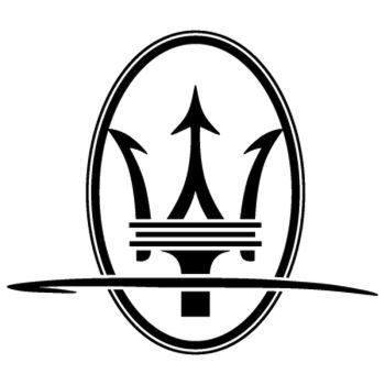 Maserati Tridente Decal