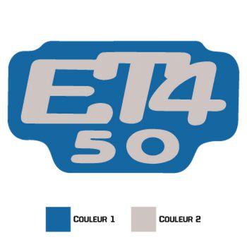 Piaggio ET4 50 Decal
