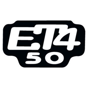 Sticker Piaggio ET4 50