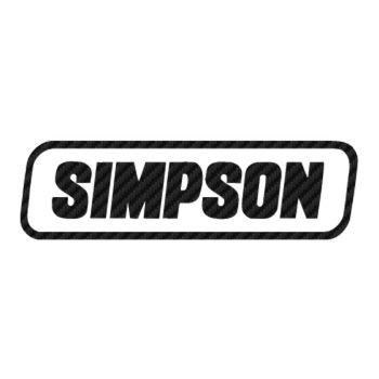 Sticker Carbone Simpson