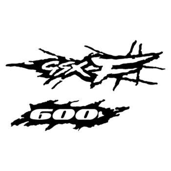 Sticker Suzuki GSX F600