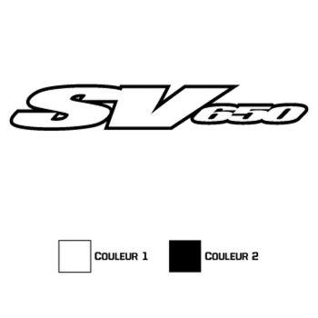 Sticker Suzuki SV 650