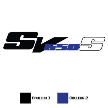 Sticker Suzuki SV 650 S