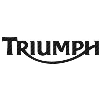 Sticker Carbone Triumph