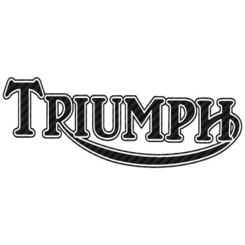 Sticker Carbone Triumph 3