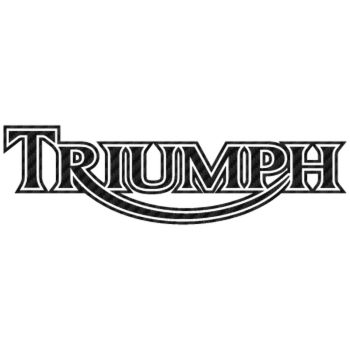 Sticker Carbone Triumph 5
