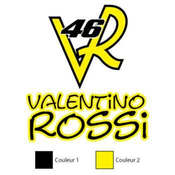 Valentino Rossi 46 Decal