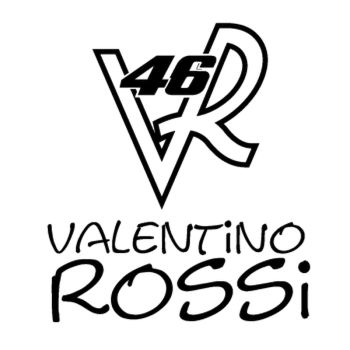 Valentino Rossi 46 Decal (B)