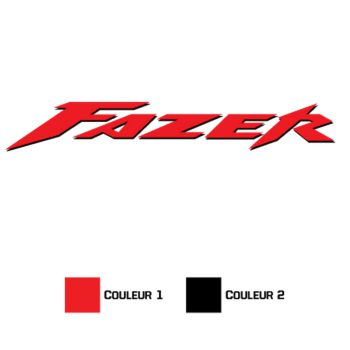 Sticker Yamaha Fazer 2