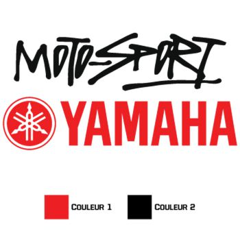 Sticker Yamaha Moto-Sport