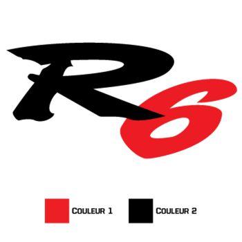 Sticker Yamaha R6