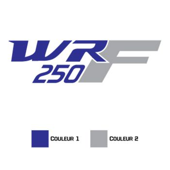 Sticker Yamaha WR 250F
