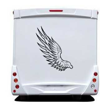 Angel Wings Camping Car Decal