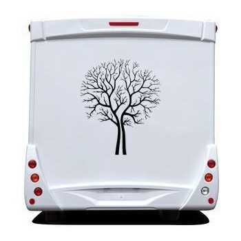 Tree Camping Car Decal