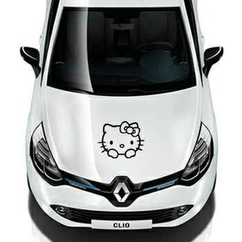 Hello Kitty Renault Decal