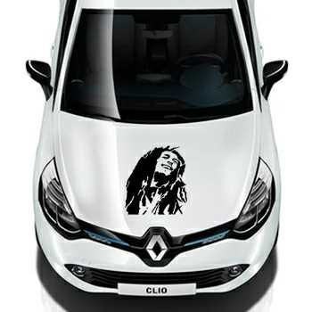 Bob Marley Renault Decal