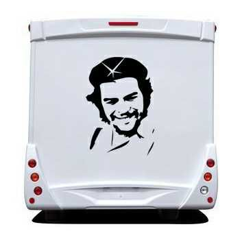 Che Guevara Camping Car Decal