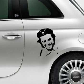 Che Guevara Fiat 500 Decal