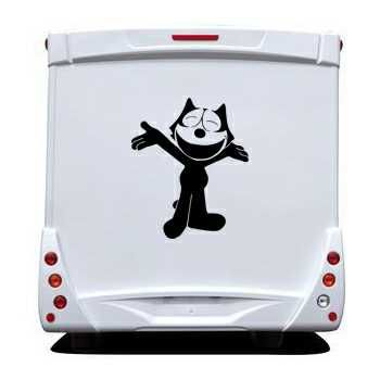 Sticker Camping Car Felix The Cat