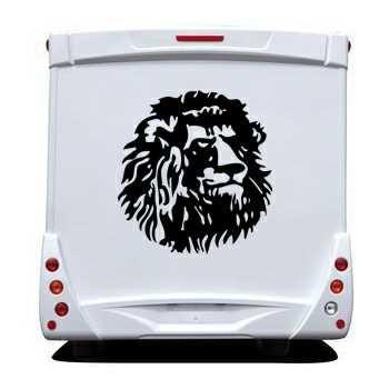 Cameroun Lion Camping Car Decal