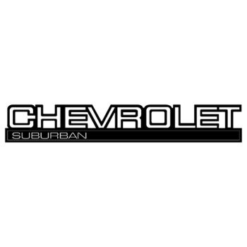 Sticker Chevrolet Suburban