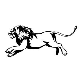 Sticker Flamme Lion 3