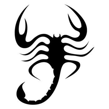 Sticker Scorpion 2